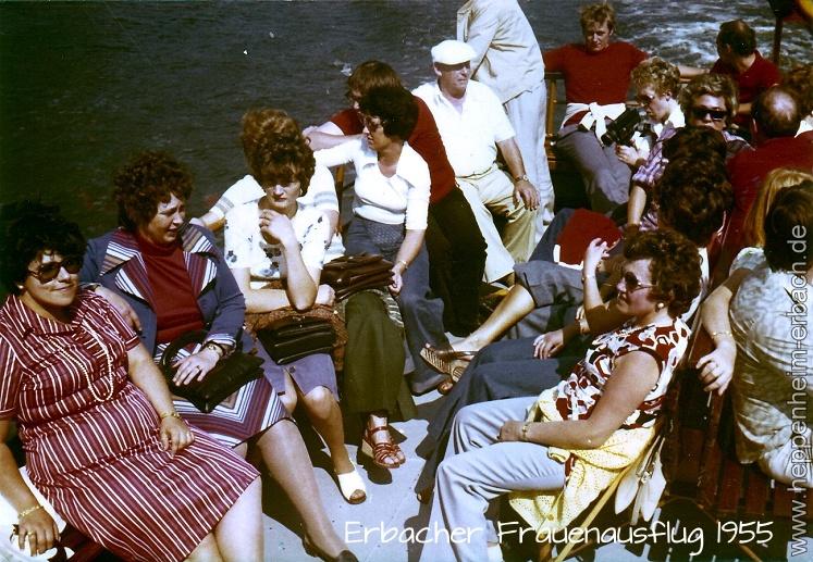 Erbacher Frauenausflug 1955