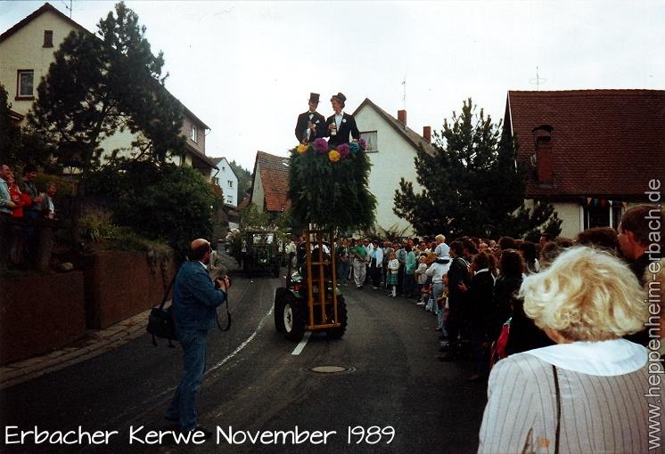 Heppenheim-Erbach Kerwe November 1989
