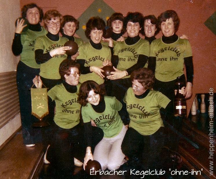 "Erbacher Kegelclub ""ohne-ihn"" 1979"